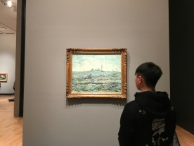Van Gogh was breathtaking (as well as the man in the photo /wink/)