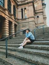 Just being touristy in Sydney